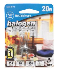 Westinghouse  20 watts T4  Halogen Bulb  200 lumens White  Decorative  1 pk