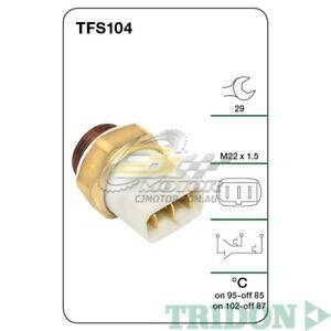 TRIDON FAN SWITCH FOR Audi 200T 10/86-12/90 2.2L(MC) SOHC 10V(Petrol)  TFS104