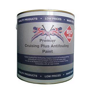 Premier Cruising Plus Antifouling 2.5 ltr - Light Blue anti foul boat paint