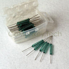 Generic New 25PCS Reed Glass Magnetic Switches N//O SPST 300VDC 3X20MM