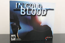 In Cold Blood  (PC, 2001) *Tested/Complete Jewel Case