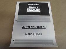 1991 Quicksilver Parts Catalog Accessories Mercruiser Oem Boat 90-42000