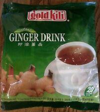 Gold Kili Natural Instant Ginger Herbal Tea Drink 20 sachets