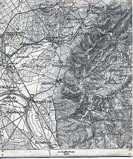 Mömbris Alzenau Kahl Karlstein 1910 Teil-Karte/Ln. Johannesberg Wasserlos Hohl