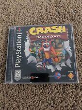 Crash Bandicoot (Sony PlayStation 1 Ps1 Black label) - Cib (Disc, Manual & Case)