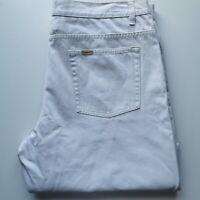 Timber Creek By Wrangler 102R Men's White Jeans 100%Cotton