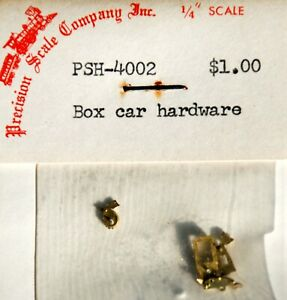 Precision Scale  Brass  Box Car Hardware #4002 On3 O On30