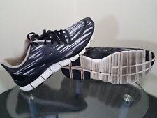 Nike Free 5.0 V4 Print Womens Size 11 Black / White Running Shoes