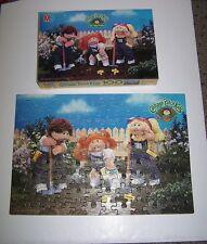 1984 Milton Bradley Cabbage Patch Kids 100 Pcs Puzzle Gardening Fun #4476-1