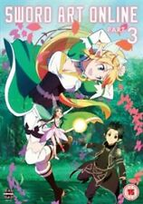 Sword Art Online Part 3 (Episodes 15-19) (DVD) Near Mint **UK FREE POSTAGE !!!**