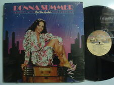 DONNA SUMMER On The Radio Hits Vol. I & II SOUL 2xLP Shrink CASABLANCA w/ POSTER