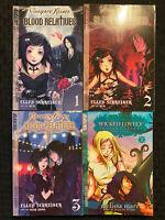 Vampire Kisses 1, 2, 3, Wicked Lovely 1 Manga Teen Graphic Novel