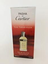 Pasha De Cartier Eau Genereuse For Men 5 oz Eau de Toilette Spray NIB Sealed