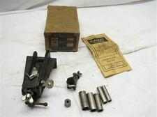 Early Stanley No. 59 Dowel Jig Cutting Woodworking Wood Tool w/Box/Full Label