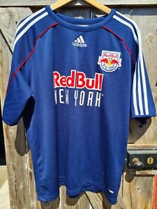 Red bull New York Football training jersey L Adidas RARE SAMPLE