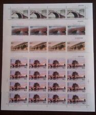 China 2003-5 Ancient Chinese Arch Bridges Stamps full sheet古桥