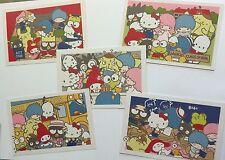 Sanrio Promo Hello Kitty & Friends 5 Postcard Set Back to School Class of 2016