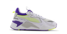 Mens Puma RS-X SR running Trainers Puma White/Electric Purple 372296 02