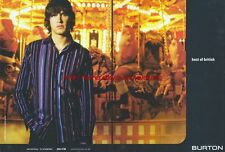"Burton Clothing ""Best Of British"" 2003 Double Page Magazine Advert #663"