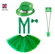 ST. PATRICK`S DAY FANCY DRESS COSTUME Party Irish Clover Girls Accessory Lot UK