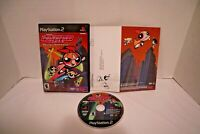 Powerpuff Girls: Relish Rampage (Sony PlayStation PS2, 2002) COMPLETE w/ Manual