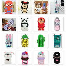 3D Cartoon Soft Silicone Rubber Case For Samsung S9+ S6/7 edge S3/4 J3/5/7 2016