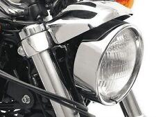 """Estensione Anello Cromato 2"""" Faro Harley Davidson Sportster 883 1200 C XL CUSTOM"""