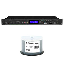 New listing Tascam Cd-400U Cd/Sd/Usb Player with 50pck of Cd-R 700Mb 52x Write