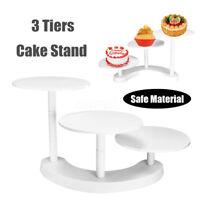 3 Tier Cake Stand Plastic Cupcake Dessert Wedding Birthday Party Display   US