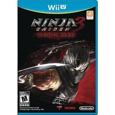 Ninja Gaiden 3: Razor's Edge For Wii U With Manual And Case Very Good 4E