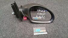 SEAT IBIZA 6L MK4 DRIVER SIDE ELECTRIC WING MIRROR LS7Z