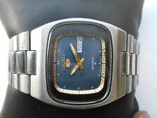 RARE VINTAGE JAPAN MADE TV DIAL SEIKO 5 D DATE GENTS MENS AUTOMATIC WRISTWATCH