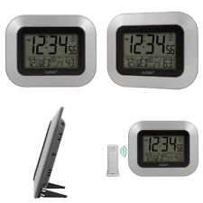 La Crosse Technology WS-8115U-S-INT Atomic Digital Wall Clock with One Size