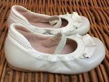 BLOCH PATENT MARY JANES Ballet Flats Shoes RA RA PEARLY Taupe 6 7 US 23 Euro BOX