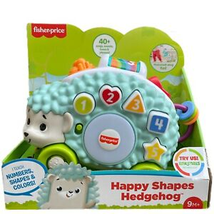 Fisher-Price Happy Shapes Hedgehog Linkimals Teaches Interactive Play Music 9M+