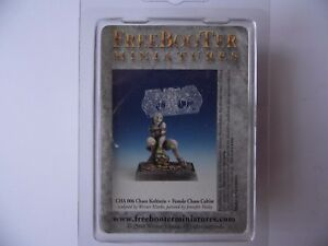 FREEBOOTER MINIATURES - 25MM/28MM FANTASY FIGURES - CHA 006 - FEMALE CHAOS