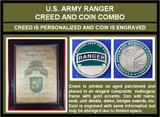 Mc-Better: Personalized Ranger Creed And Engraved Ranger Coin