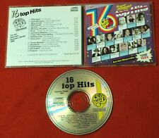 16 TOP HITS INTERNATIONAL 1988 CD SANDRA ces Elton John Bros Boytronic Kylie