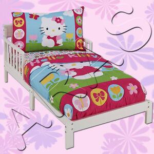 4 Pc. Hello Kitty Toddler Bedding Set by Sanrio