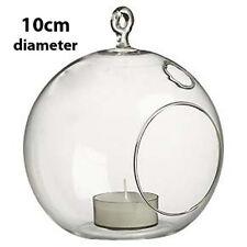 20 Bubble Ball Globe Hanging Glass Tealight Holder Wedding Table Centrepiece