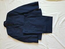 "MENS PRIMARK NAVY BLUE SUIT 40"" CHEST, TROUSERS 34/29"""