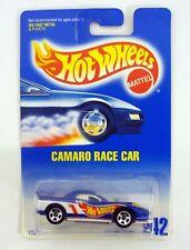 HOT WHEELS CAMARO RACE CAR #242 Die-Cast Car MOC COMPLETE 1991