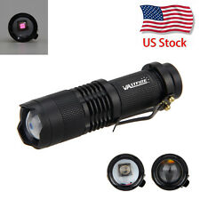Zoom OSRAM Cree 5W 850nm IR Infrared Radiation Night Vision LED Flashlight Torch