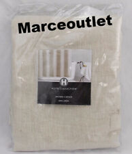 Hotel Collection Bath Accessories 100% Linen EXTRA LONG Shower Curtain 72