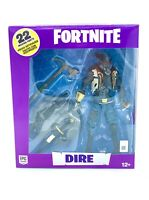 "NEW! EPIC GAMES MCFARLANE TOYS FORTNITE DIRE 7"" COLLECTIBLE ACTION FIGURE"
