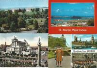 Lot of 100 Foreign International Postcards - Mixture of Countries MIXED LOT