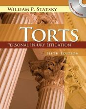 Torts : Personal Injury Litigation by William P. Statsky (2010, Hardcover)