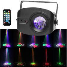 48 Muster Lichteffekt Bühnenbeleuchtung RGB LED Laser DJ Projektor Disco Party