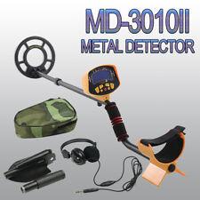MD-3010II Metal Detector w/Headphone & Shovel Gold Trasure Hunter LCD Display