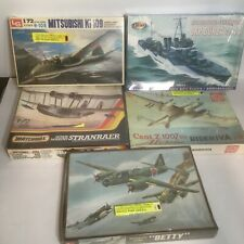 Lot of 5 Military Aircraft Model Kits Various Eras & Makers 1:72 Scale SEALED